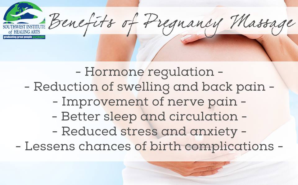Importance of massage while pregnant
