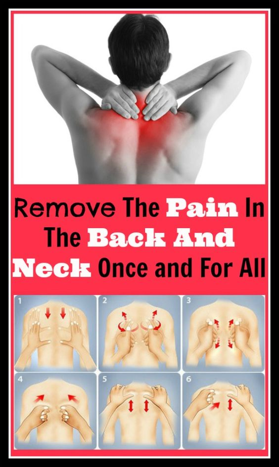 Remove the Pain from the Back and the Neck