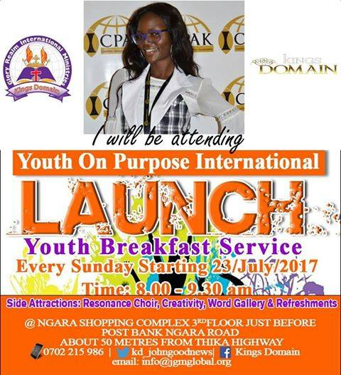 LAUNCH OF YOUTH ON ...
