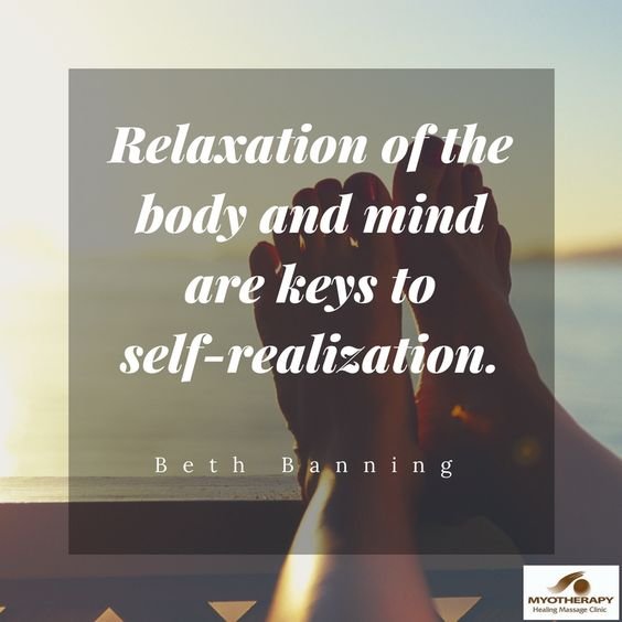Relaxation and Self...