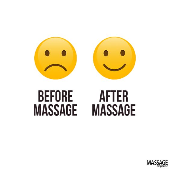 Before Massage, Aft...